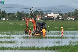 Tổng Công ty Điện lực miền Trung khắc phục sự cố sau bão số 6