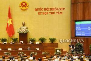 Quốc hội thông qua 12 chỉ tiêu phát triển KT-XH năm 2020, tăng trưởng GDP khoảng 6,8%