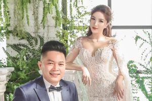 Ảnh cưới của Bảo Thy và bạn trai doanh nhân