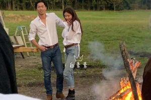 Lâm Chí Linh và chồng trẻ chụp ảnh cưới