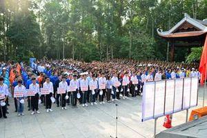 Trồng hơn 2000 cây thông mã vĩ tại Khu Di tích Đá Chông-K9