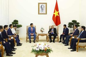 Thủ tướng Chính phủ Nguyễn Xuân Phúc tiếp khách quốc tế
