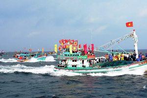 Tưng bừng lễ hội Nghinh Ông ở đảo Kiên Hải