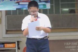 Trường Ngô Quyền bị yêu cầu kiểm điểm vụ kỷ luật học sinh công khai trên mạng