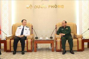 Phó Tổng Tham mưu trưởng QĐND Việt Nam tiếp Đoàn Cục Quản lý Di dân Trung Quốc
