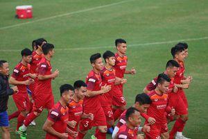 ĐT Việt Nam sẵn sàng cho trận đấu gặp ĐT UAE