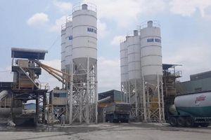 Long An: Nhiều vi phạm tại công ty sản xuất bê tông
