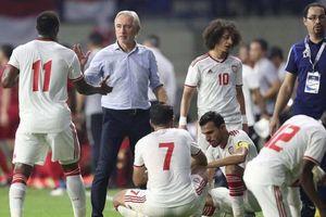 Chiến lược của HLV UAE bị 'ném đá' dữ dội trước trận gặp Việt Nam