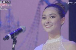 Á hậu Tường San dừng chân top 8 Miss International vì hùng biện vấp váp