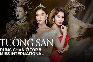 Tường San dừng chân ở Top 8 Miss International: Fan tiếc nuối như Nam Em ở Miss Earth 2016