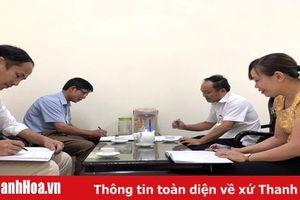 Tăng sức chiến đấu từ công tác kiểm tra, giám sát ở Đảng bộ huyện Lang Chánh