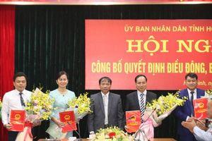 Nhân sự, lãnh đạo mới tại TP.HCM, Hòa Bình và Bắc Giang