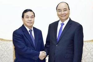 Thủ tướng Nguyễn Xuân Phúc tiếp khách quốc tế