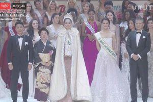 Đại diện Thái Lan đăng quang Hoa hậu Quốc tế,Tường San dừng chân ở top 8