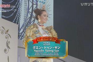 'Hoa hậu Quốc tế 2019': Tường San lọt top 8 và đoạt giải Trang phục dân tộc