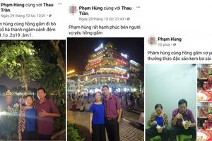 Dân mạng 'ngả mũ' trước cách check-in thể hiện tình cảm với vợ của 'ông chú'