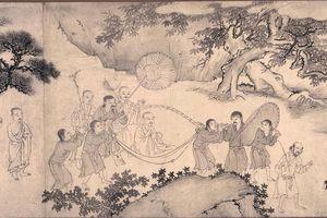 Bức tranh vẽ Phật hoàng Trần Nhân Tông gây sửng sốt