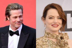 Brad Pitt, Emma Stone có thể đóng cặp trong phim mới