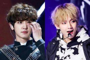V (BTS) và dàn sao nam trông cá tính với kiểu tóc xoăn xù