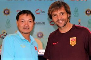 Việt Nam thắng đội Trung Quốc ở giải bóng đá bãi biển Đông Nam Á