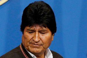Cựu Tổng thống Bolivia đến Mexico tị nạn