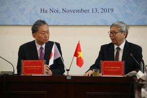Nguyên Thủ tướng Nhật Bản Hatoyama Yukio thăm và làm việc tại Liên hiệp Hội Việt Nam