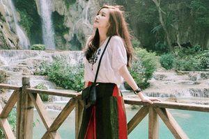 'Say mềm' nhan sắc đỉnh cao hot girl Lào bị nhầm là gái Hàn Quốc