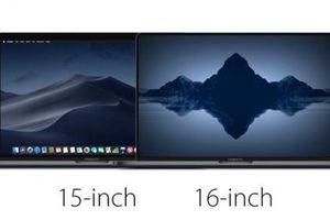 MacBook Pro 16 inch có thể lên kệ cuối tuần này