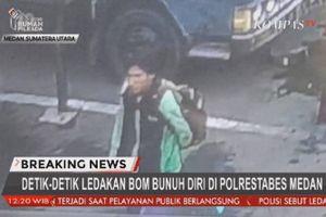 Trụ sở cảnh sát Indonesia bị đánh bom tự sát, 7 người thương vong