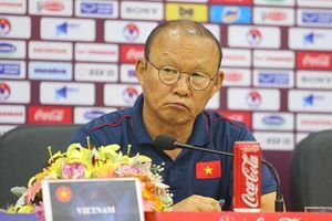 HLV Park Hang Seo: 'UAE sẽ bung hết sức cho trận đấu với tuyển Việt Nam'