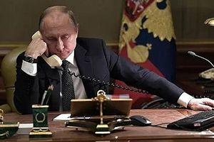 Lãnh đạo Nga, Đức điện đàm thảo luận việc vận chuyển khí đốt qua Ukraine