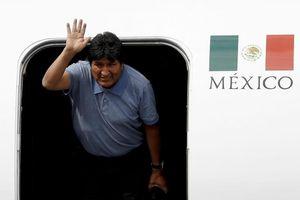 Cựu Tổng thống Bolivia đã có mặt ở Mexico