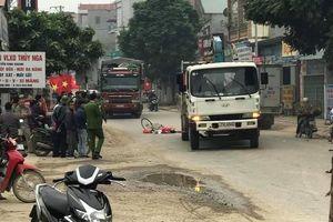 Cao Bằng: Xe tải đâm vào xe đạp, bà cụ 67 tuổi tử vong tại chỗ