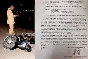 Truy tìm lái xe gây tai nạn khiến sản phụ 34 tuần tử vong