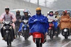 Không khí lạnh tiếp tục ảnh hưởng đến Bắc và Trung Bộ, gây mưa diện rộng