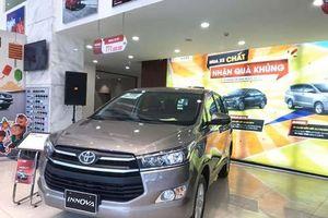 Toyota Innova giảm giá 75 triệu đồng, quyết đầu Mitsubishi Xpander