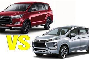 So sánh Mitsubishi Xpander và Toyota Innova