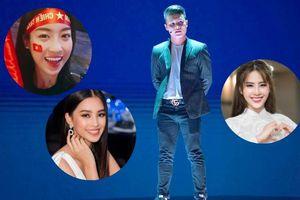 'Bỏ rơi' Bùi Tiến Dũng, Hoa hậu Đỗ Mỹ Linh rung động với Quang Hải