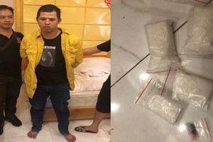 TP. Hồ Chí Minh: Bắt 2 thanh niên tàng trữ ma túy, thủ súng đạn trong khách sạn