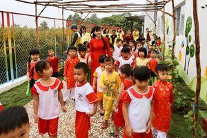 Doanh nghiệp Singapore đóng góp hơn 6 tỷ đồng xây trường mẫu giáo ở Long An