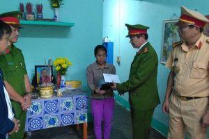 Thăm hỏi, hỗ trợ gia đình, nạn nhân TNGT khó khăn ở Quảng Trị