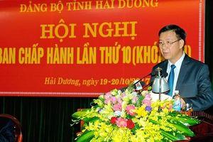 Chân dung tân Phó Bí thư Tỉnh ủy Hải Dương Phạm Xuân Thăng