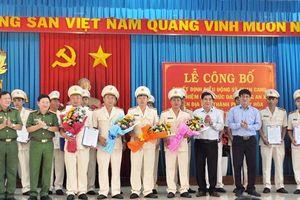 Phú Yên tiếp tục điều động Công an chính quy về xã