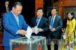 Ông Phạm Xuân Thăng được bầu làm Phó Bí thư Tỉnh ủy Hải Dương