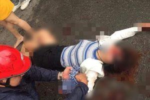 Mâu thuẫn gia đình, một cô gái bị chém gục tại Hà Nội