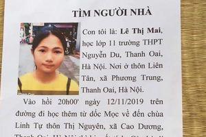 Nữ sinh cấp 3 ở Hà Nội mất tích bí ẩn sau giờ học thêm môn Toán