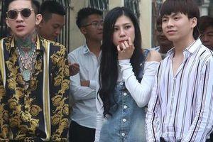 Nhiều người 'nổi tiếng' xuất hiện trong phiên tòa xử Khá 'bảnh', học sinh cũng tới xem