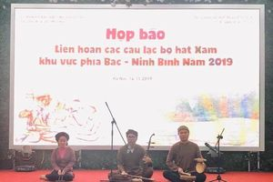 Liên hoan hát Xẩm các tỉnh phía Bắc: Chuẩn bị cho việc lập hồ sơ công nhận hát Xẩm là di sản văn hóa phi vật thể quốc gia