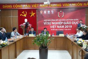 Nhiều vấn đề 'nóng' của xã hội được phản ánh trong tác phẩm dự thi Giải Báo chí 'Vì sự nghiệp Giáo dục Việt Nam 2019'