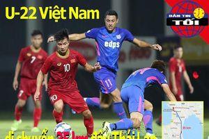 U-22 Việt Nam di chuyển 35 km đấu Thái Lan; Man City khiếu nại